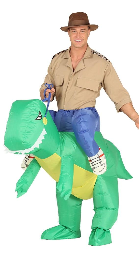 bf1e8b4ae071fa Kostium nadmuchiwany dla dorosłych Dinozaur - Party World