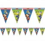"Baner z flag ""Mickey Mouse Roadster Racers"""