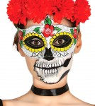 Maska damska Mariachi - Day of the Dead