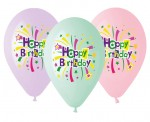 "Balony Premium 13"" Happy Birthday"