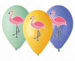 "Balony Premium 13"" Flamingi"