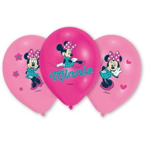 Balony lateksowe Minnie Mouse