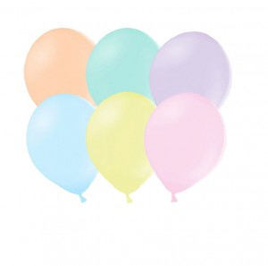 Balony PasteLOVE mix, 10 szt.