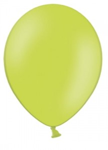 "Balony 14"" Strong, Zielone, Lime Green, pastelowe 10 szt."