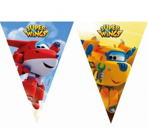"Baner z flag ""Super Wings"""
