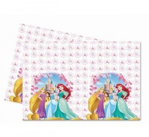 "Obrus foliowy ""Disney Princess Heart Strong"" 120x180 cm"