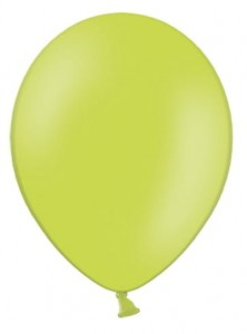 "Balony 12"" Strong, Zielone, Lime Green, pastelowe 10 szt."