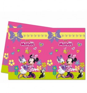 "Obrus foliowy Minnie Mouse ""Happy Helpers"""
