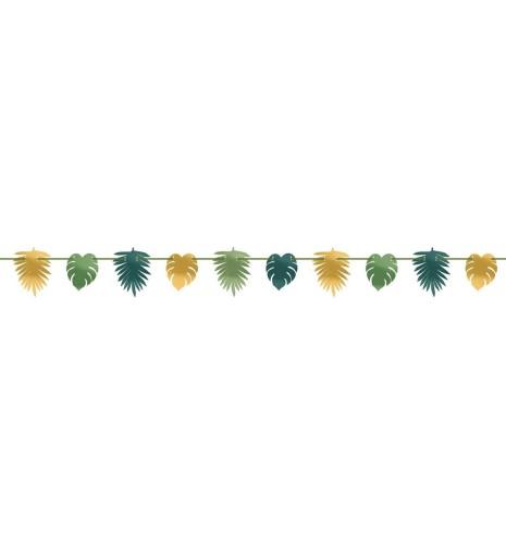 5652e9c8 Girlanda hawajska Egzotyczne Liście