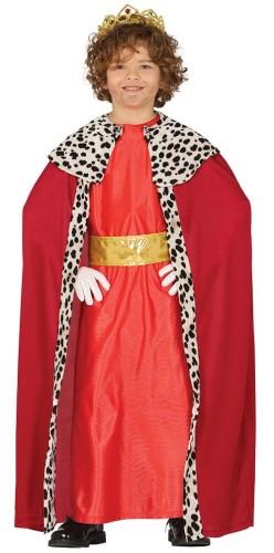 523e21dbd30a9d Strój dla chłopca Trzech Króli Baltazar, czerwony - Party World